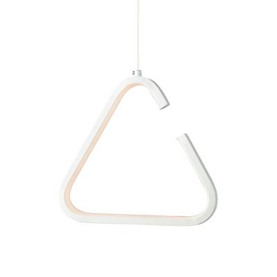 Κρεμαστό φωτιστικό LED ανοιχτό τρίγωνο 23x21cm