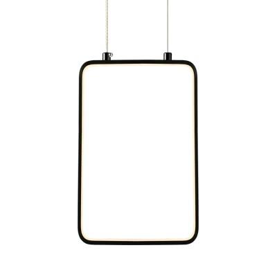 Κρεμαστό φωτιστικό LED ορθογώνιο 30x18cm