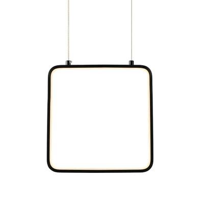 Κρεμαστό φωτιστικό LED τετράγωνο 22x22cm