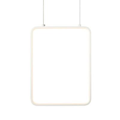 Κρεμαστό φωτιστικό LED ορθογώνιο 36x26cm