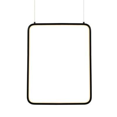 Κρεμαστό φωτιστικό LED ορθογώνιο 46x36cm