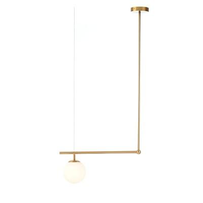 Κρεμαστό φωτιστικό 50x105cm χρυσαφί