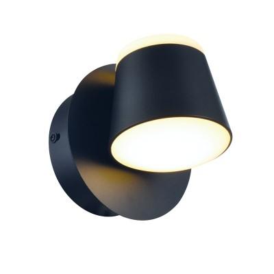 Απλίκα LED Ø12cm με περιστρεφόμενο καπέλο