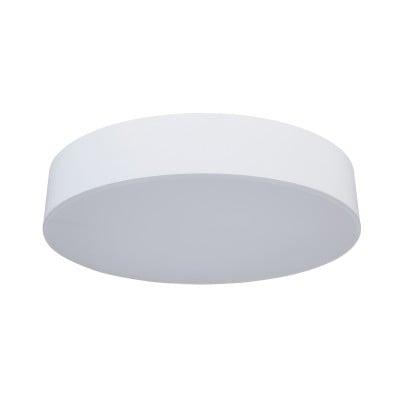 Λευκή στεγανή πλαφονιέρα Ø32cm