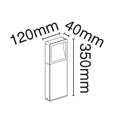 Κολωνάκι ορθογώνιο 35cm
