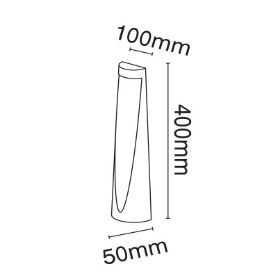 Ασύμμετρο κολωνάκι 40cm