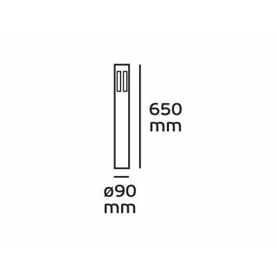 Κυλινδρικό κολωνάκι Ø9cm