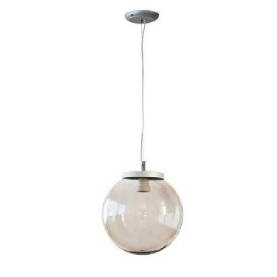 Στεγανό κρεμαστό φωτιστικό μπάλα Φ30cm αλουμίνιο με ακρυλικό