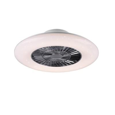 Πλαστικός ανεμιστήρας οροφής Ø60cm LED DIMMABLE