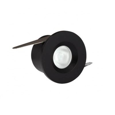 Χωνευτό σποτ Ø4cm με τρύπα κοπής Ø3.2cm LED 3W