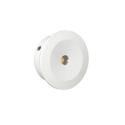 Χωνευτό σποτ Ø3cm με τρύπα κοπής Ø2.4cm LED 3W