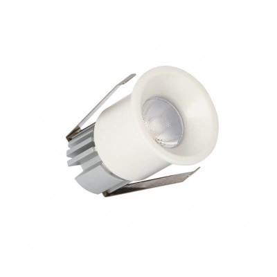 Χωνευτό σποτ Ø5cm με τρύπα κοπής Ø2.8cm LED 3W dimmable