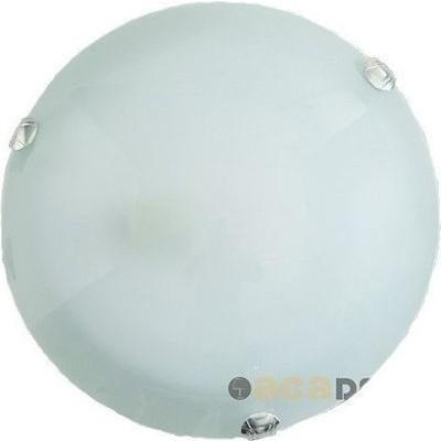 Γυάλινο φωτιστικό οροφής διάφανο