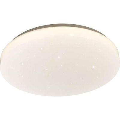 Στρογγυλή πλαφονιέρα LED από ακρυλικό με έναστρο μοτίβο