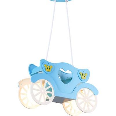 Δίφωτο παιδικό φωτιστικό κρεμαστό άμαξα 33x11cm