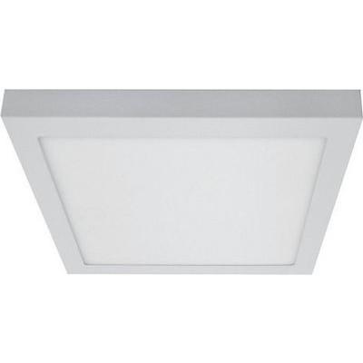 Τετράγωνη πλαφονιέρα οροφής LED 4000Κ