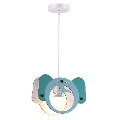 Παιδικό κρεμαστό φωτιστικό ελεφαντάκι Ø27cm