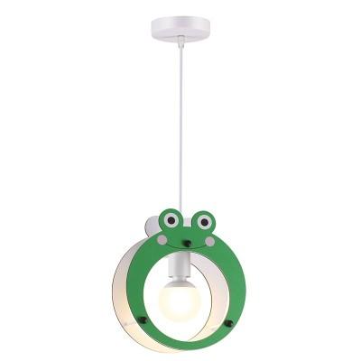 Παιδικό κρεμαστό φωτιστικό βατραχάκι Ø24cm