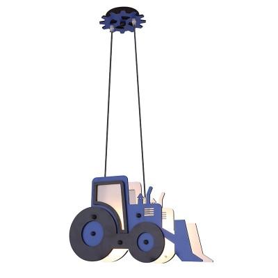 Παιδικό κρεμαστό φωτιστικό μπουλντόζα Ø42cm