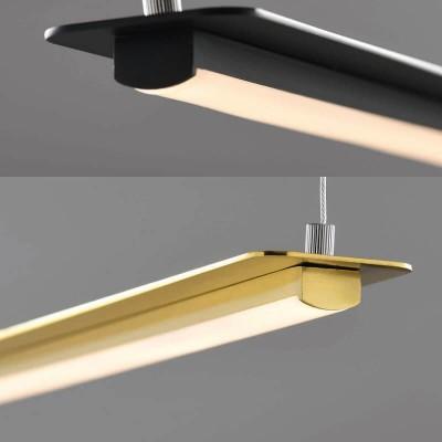 Κρεμαστό φωτιστικό LED γραμμικό 100cm