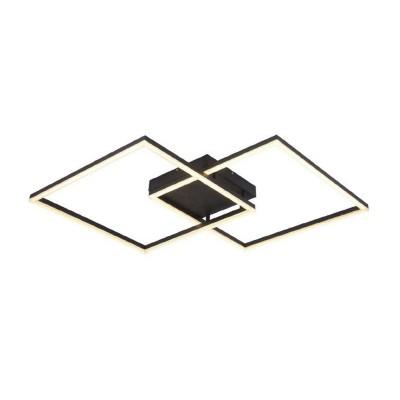 Μαύρο φωτιστικό οροφής LED dimmable