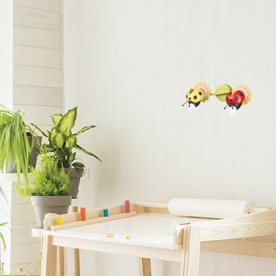 Παιδικό φωτιστικό τοίχου πασχαλίτσες 37x19cm