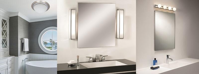 Φωτιστικά μπάνιου: Κάνε τις σωστές επιλογές!